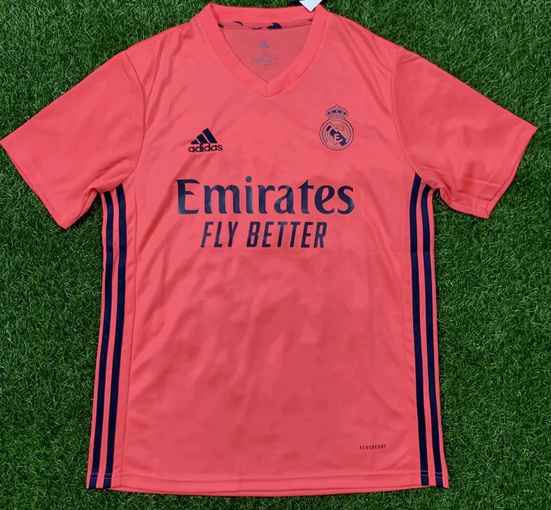 Real Madrid 2021 maillot exterieur football
