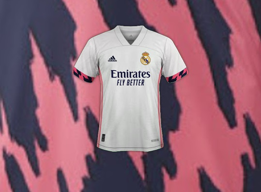 Real Madrid 2021 maillot foot domicile
