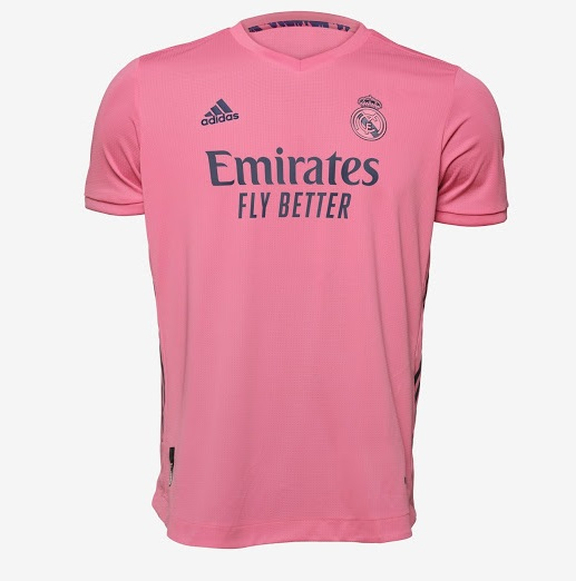 Real Madrid 2021 nouveau maillot exterieur