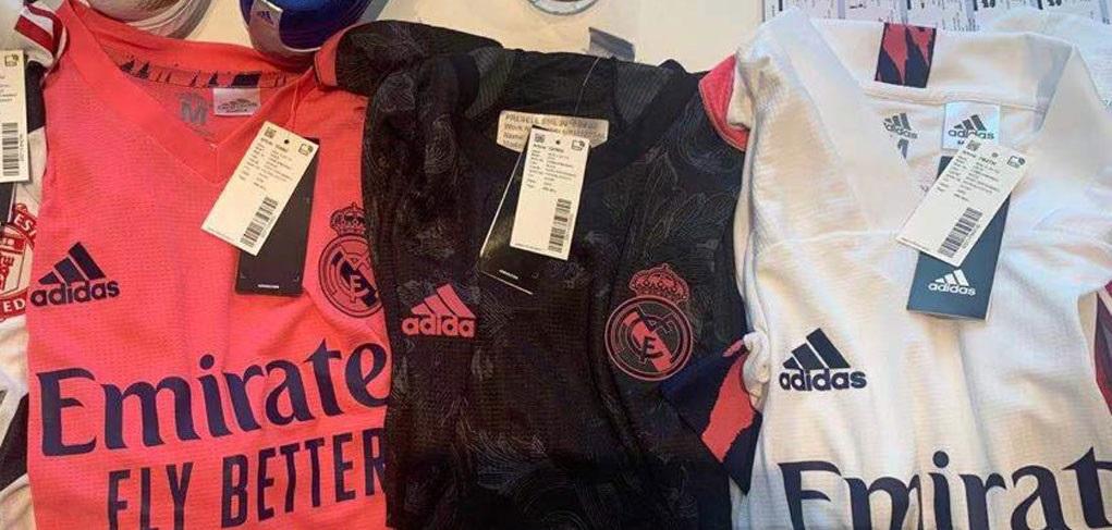 Real Madrid 2021 nouveaux maillots de foot