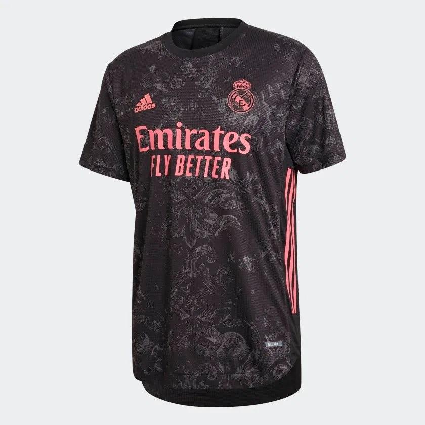 Real Madrid 2021 troisieme maillot de football third Ramos