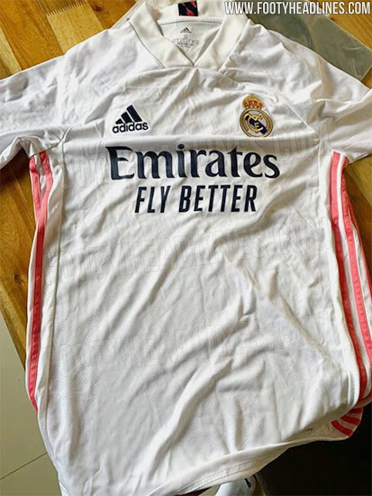 Real Madrid maillot domicile 2021 fuite