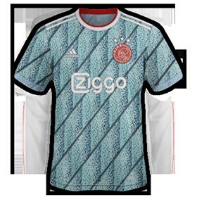 Ajax 2021 nouveau maillot de foot exterieur