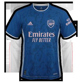 Arsenal 2021 maillot third foot