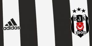 Besiktas 2021 couleurs maillot domicile