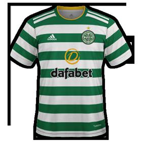 Celtic 2021 nouveau maillot de foot domicile