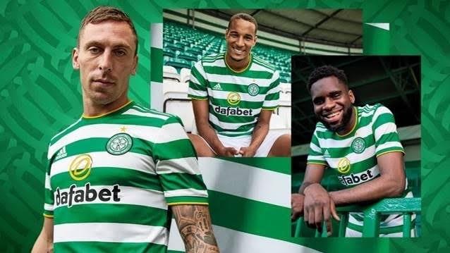 Celtic 2021 maillot domicile officiel