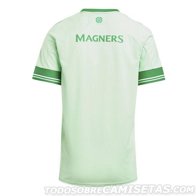 Celtic 2021 maillot exterieur dos