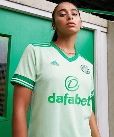 Celtic 2021 maillot exterieur foot