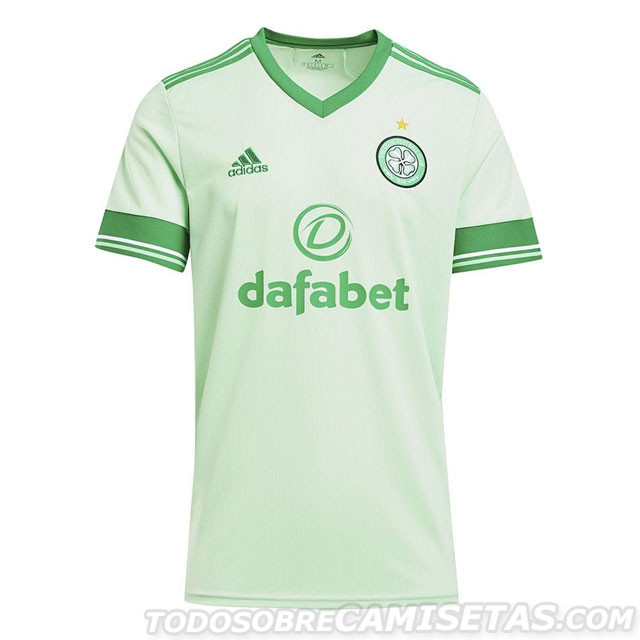 Celtic 2021 maillot exterieur officiel