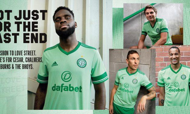 Les nouveaux maillots de foot du Celtic 2021 avec Adidas