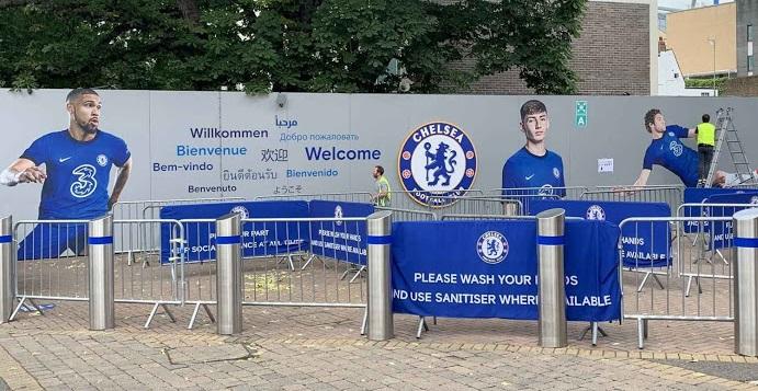 Chelsea 2020 2021 peinture maillot de football domicile 20-21