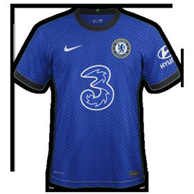 Chelsea 2021 nouveau maillot foot domicile