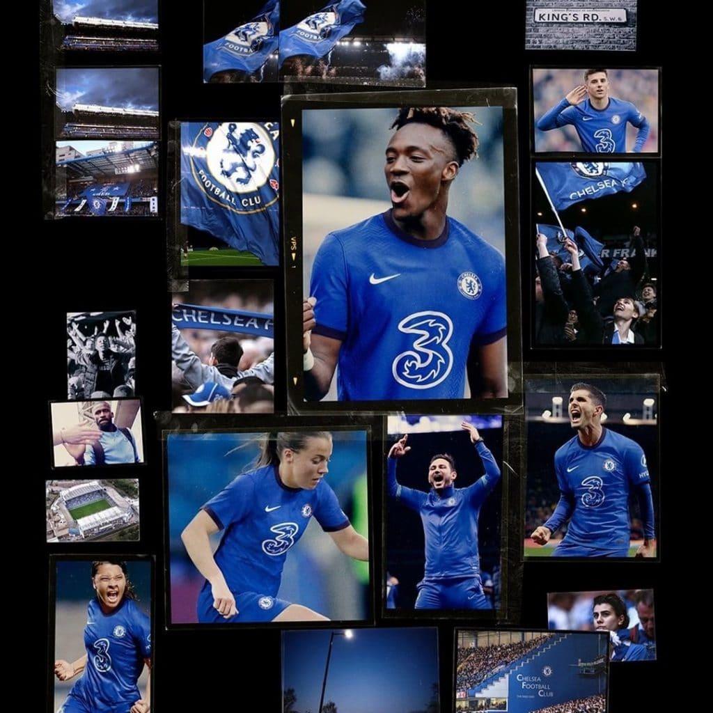Chelsea 2021 nouveau maillot officiel foot domicile