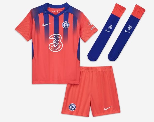 Chelsea 2021 troisieme maillot third officiel
