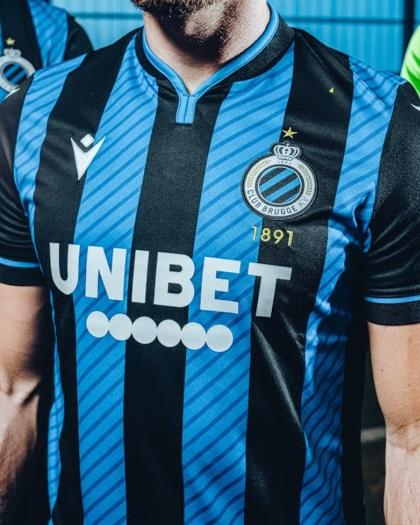 Club Brugge 2021 nouveau maillot domicile