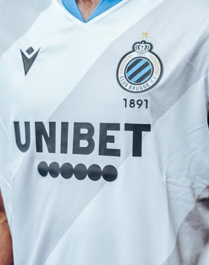 Club Brugge 2021 nouveau maillot exterieur