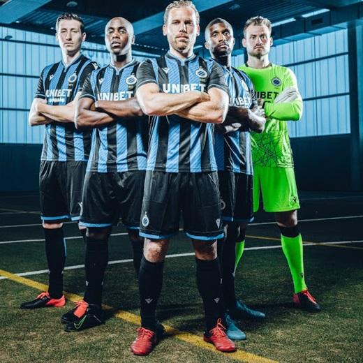 Club Brugge 2021 nouveau maillot foot domicile officiel