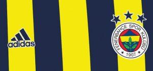 Fenerbahçe 2021 couleurs maillot domicile