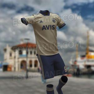 Fenerbahçe 2021 possible maillot exterieur