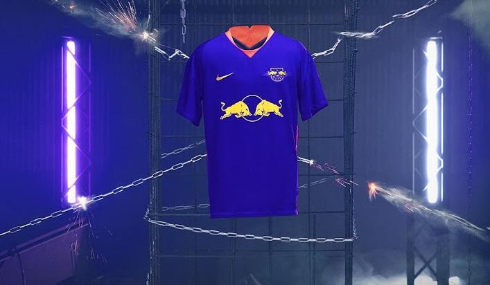Leipzig 2021 nouveau maillot de foot exterieur