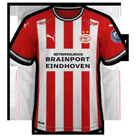 PSV Eindhoven maillot domicile
