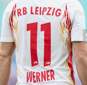 RB Leipzig 2021 maillot domicile foot flocage