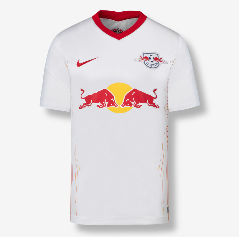 RB Leipzig 2021 maillot domicile foot
