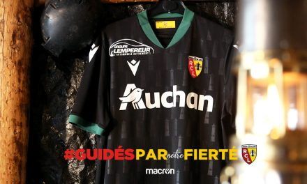 Nouveaux maillots RC Lens 2021 pour la Ligue 1