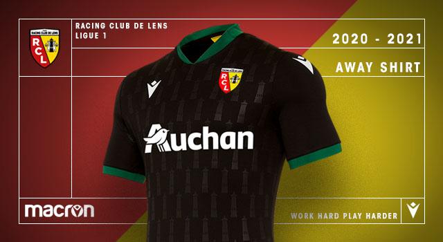 RC Lens 2021 maillot exterieur football