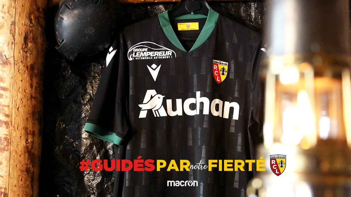 RC Lens 2021 maillot exterieur