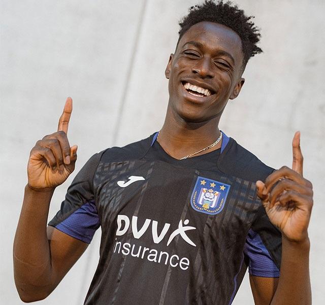 RSC Anderlecht 2020 2021 maillot third foot Joma