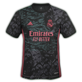 Real Madrid 2021 3eme maillot de foot third