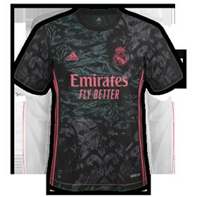 Real Madrid 2021 3eme maillot de foot third