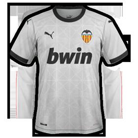 Valencia 2021 maillot de foot domicile