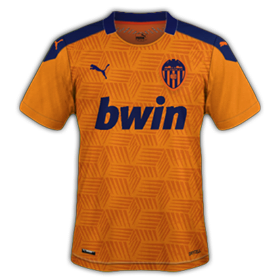 Valencia 2021 maillot exterieur foot