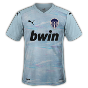 Valencia 2021 maillot third foot