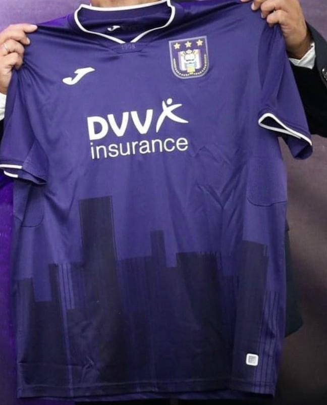 nouveau maillot domicile Anderlecht 2021