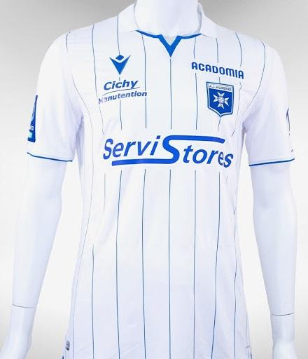 AJ Auxerre 2021 maillot domicile