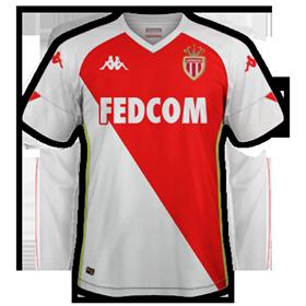 AS Monaco 2021 maillot domicile foot