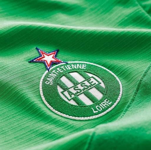 AS Saint Etienne 2021 nouveau maillot domicile dos