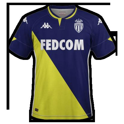 AS Monaco 2021 maillot exterieur