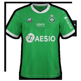 ASSE 2021 maillot domicile foot