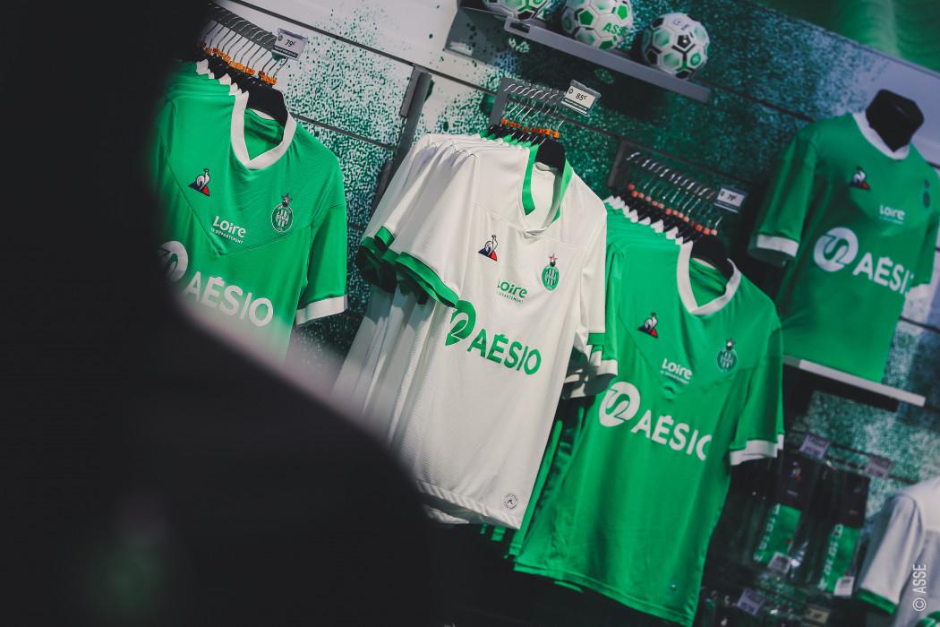 ASSE 2021 nouveaux maillots de foot