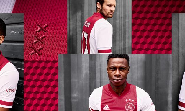 Les nouveaux maillots de l'AJAX 2021 par Adidas