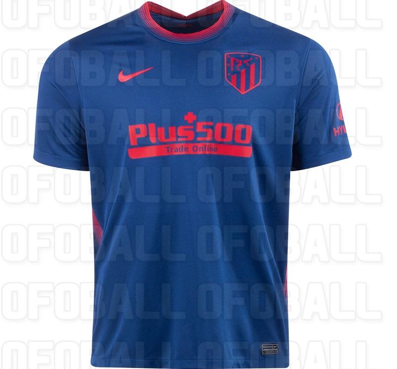 Atletico Madrid 2021 maillot de foot exterieur