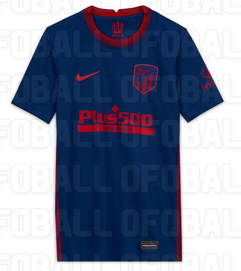 Atletico Madrid 2021 nouveau maillot de foot exterieur