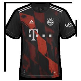 Bayern Munich 2020 maillot third foot