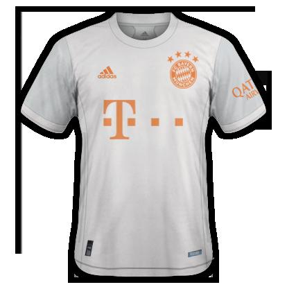 Bayern Munich 2021 maillot de foot exterieur