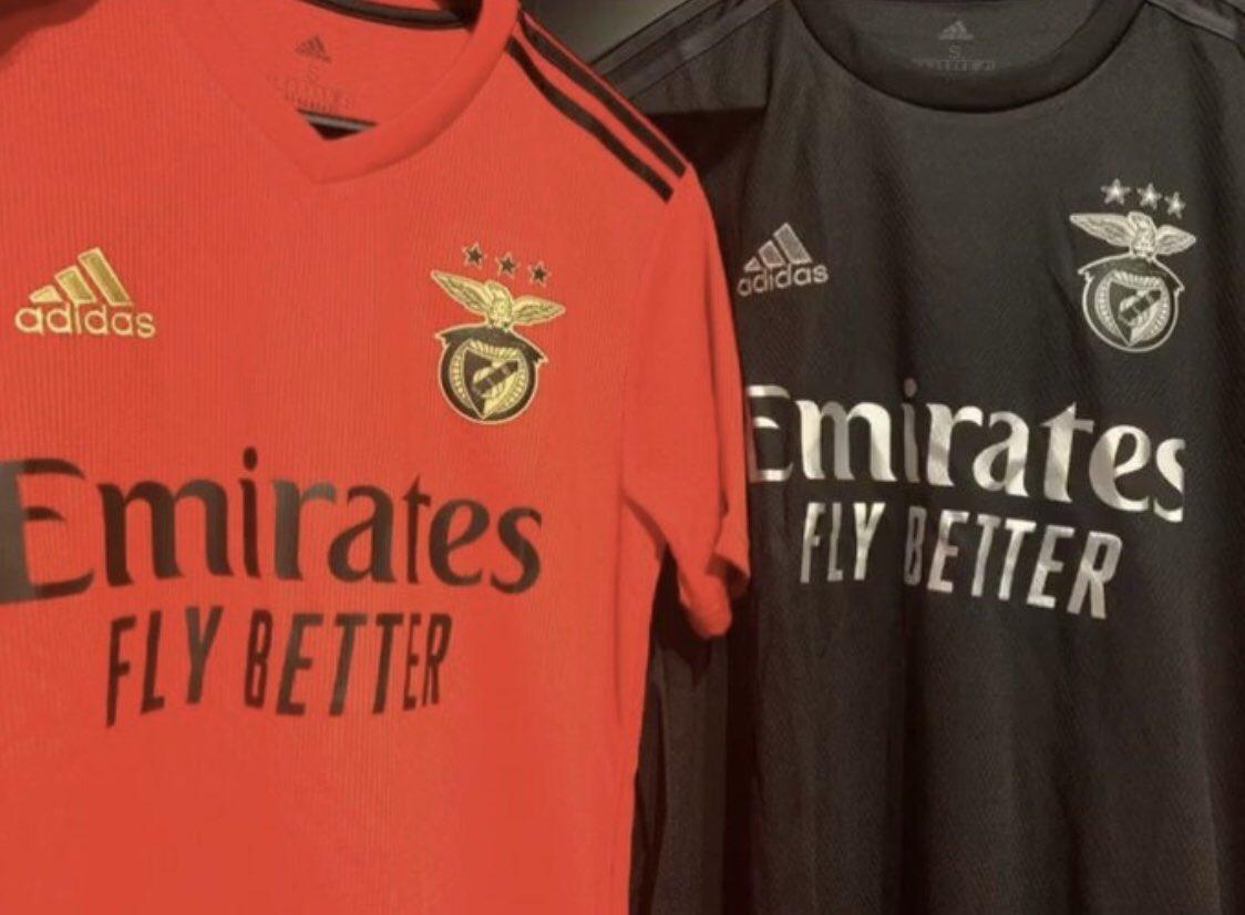 Benfica 2021 les nouveaux maillots de foot